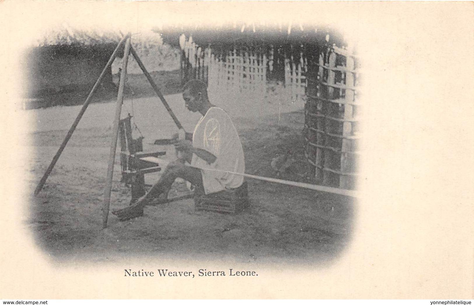 Sierra Leone - Ethnic / 14 - Native Weaver - Sierra Leone