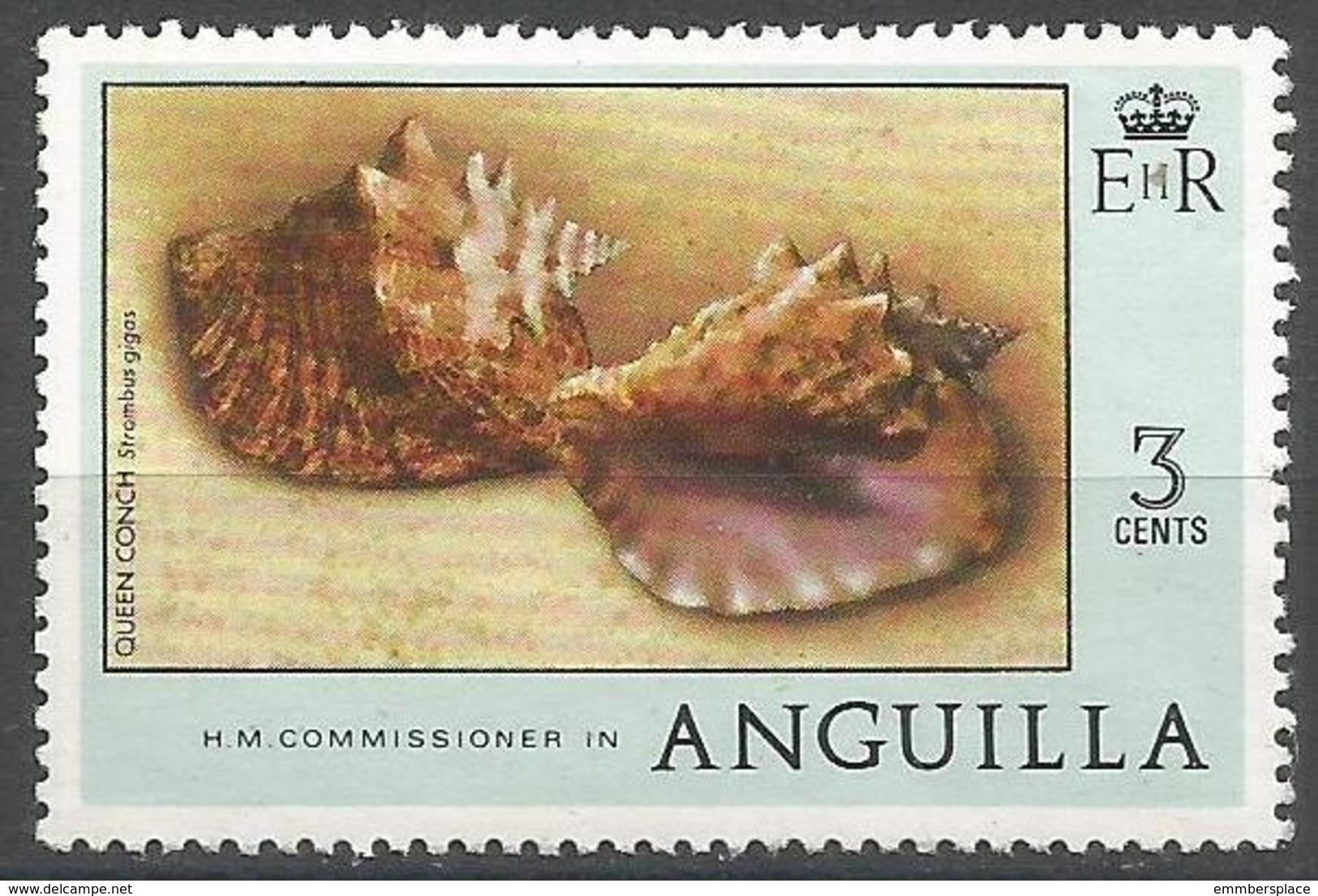 Anguilla - 1973 Pink Conch 3c MNH **   SG 276 - Anguilla (1968-...)