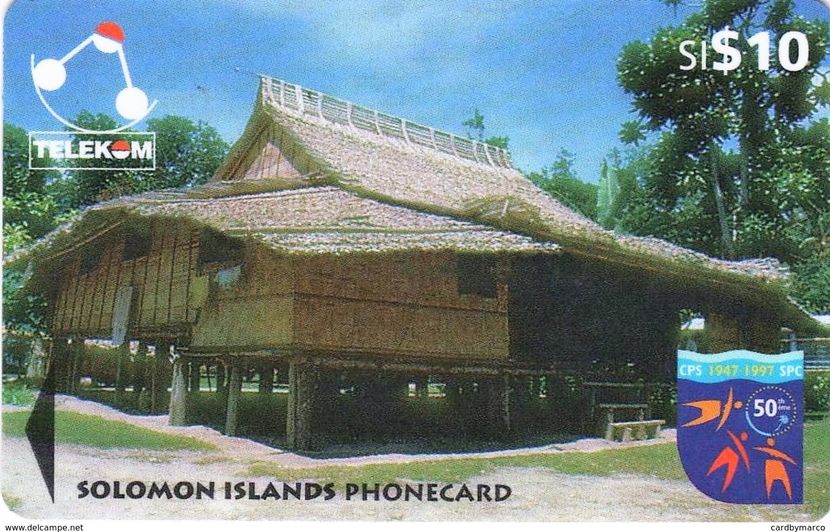 *ISOLE SALOMONE - 04SIC* - Scheda Usata - Solomon Islands