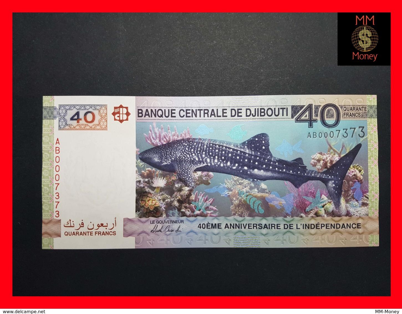 DJIBOUTI 40  Francs 2017  P. NEW Serial AB - Djibouti