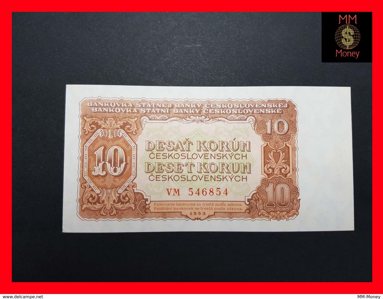 CZECHOSLOVAKIA  10 Korun 1953 P. 83b - Tchécoslovaquie