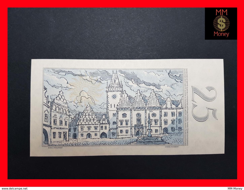 CZECHOSLOVAKIA  25 Korun 1958 P. 87  UNC - Tchécoslovaquie