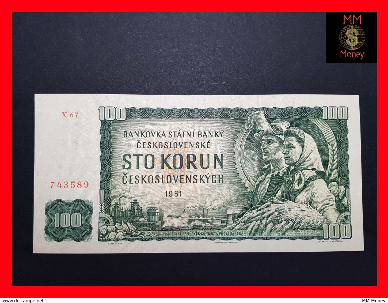 CZECHOSLOVAKIA  100 Korun 1961 P. 91c  AU\UNC - Tchécoslovaquie