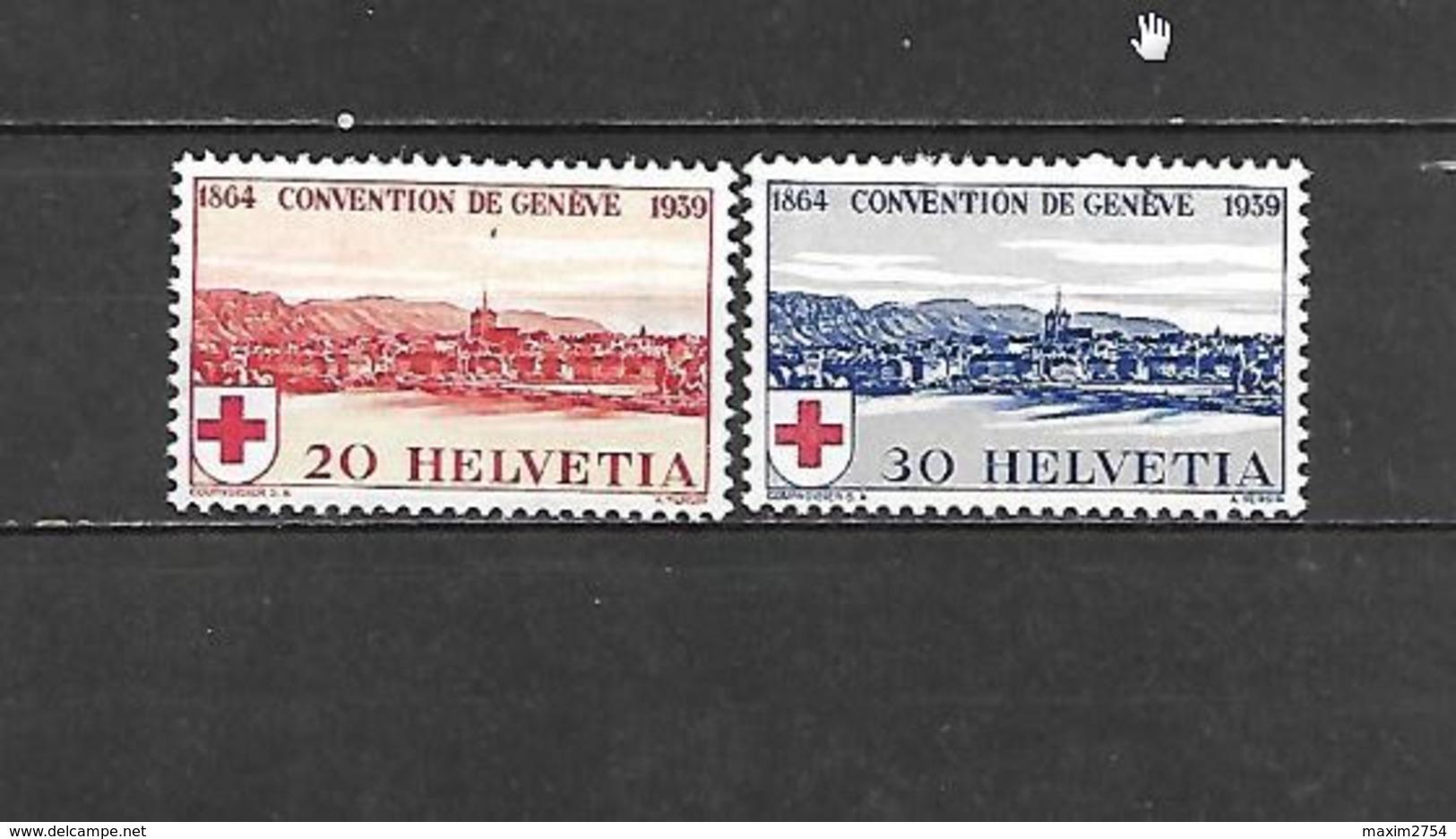 1939 - N. 342/43** (CATALOGO UNIFICATO) - Svizzera