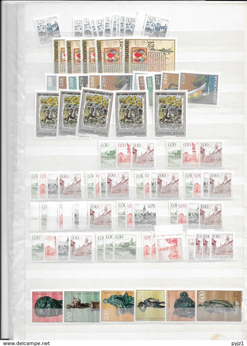Yugoslavia  (10 Scans) Wholesale Lot USED And MNH - Timbres