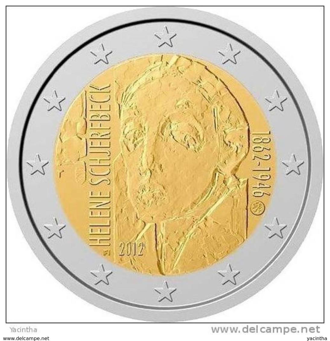 @Y@   Finland 2 Euro 2012 UNC  Helene Schjerfbeck Finnland - Finlandía