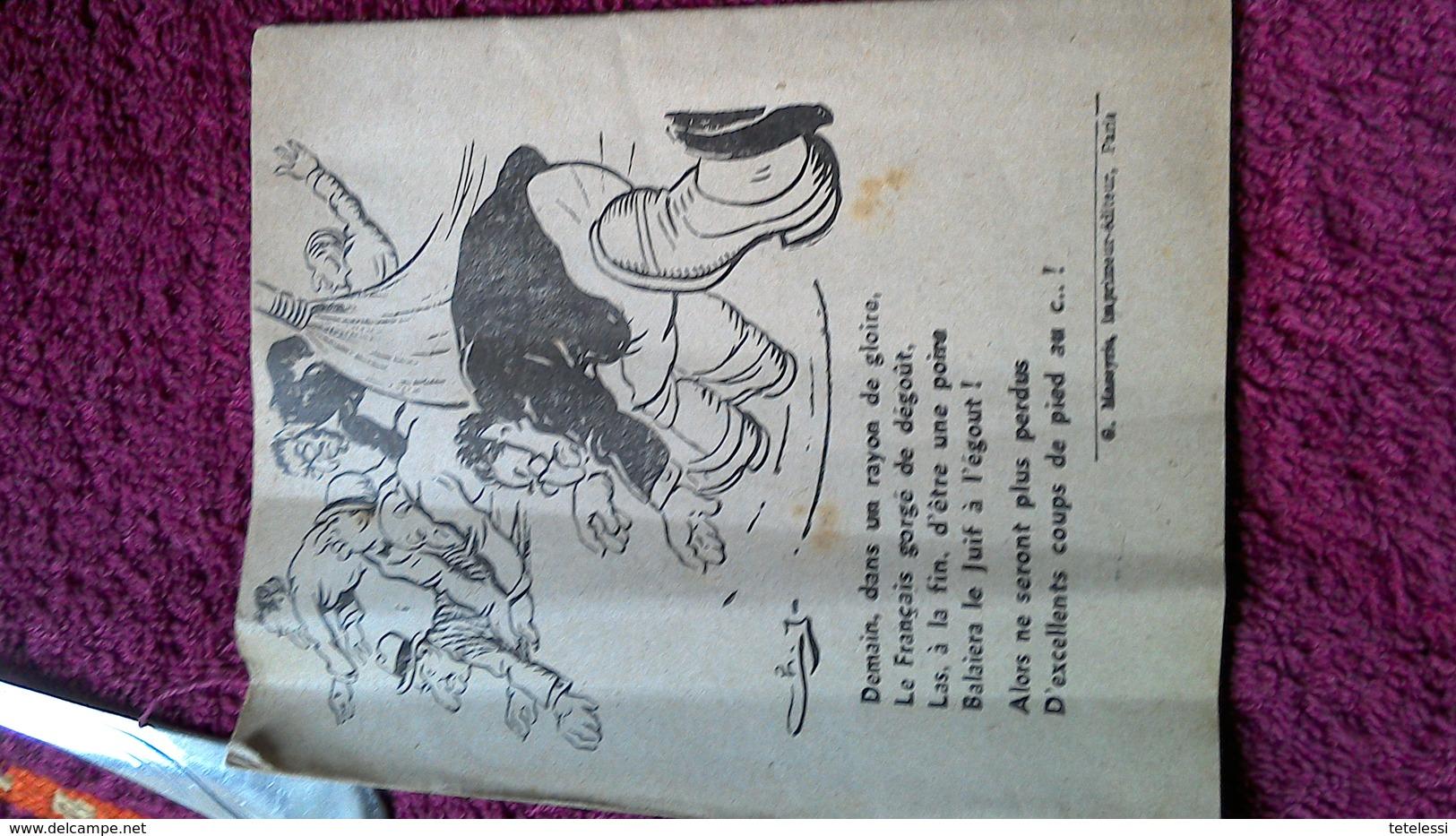 Brochure Propagande Allemande Anti ? - 1939-45