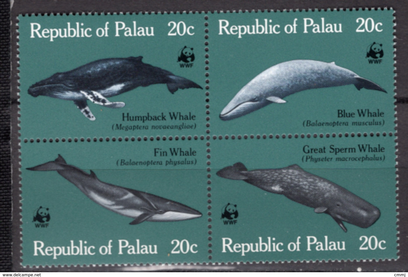 1983 - PALAU - Catg.. Mi.  20/23 - NH - (CW1822.3) - Palau