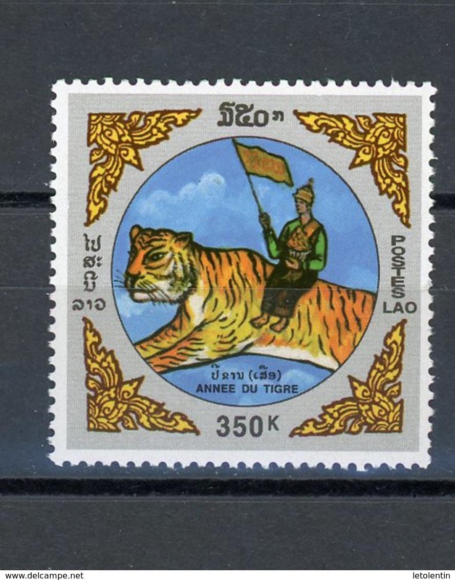 LAOS : -  ANNÉE DU TIGRE - N° Yvert 1309 ** - Laos