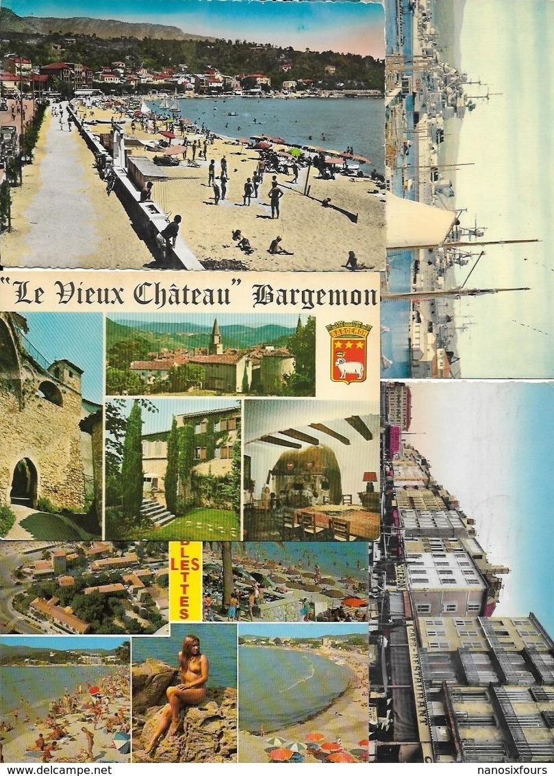 LOT DE 600 CARTES GRAND FORMATS DU VAR A VOIR BON LOT - Cartes Postales