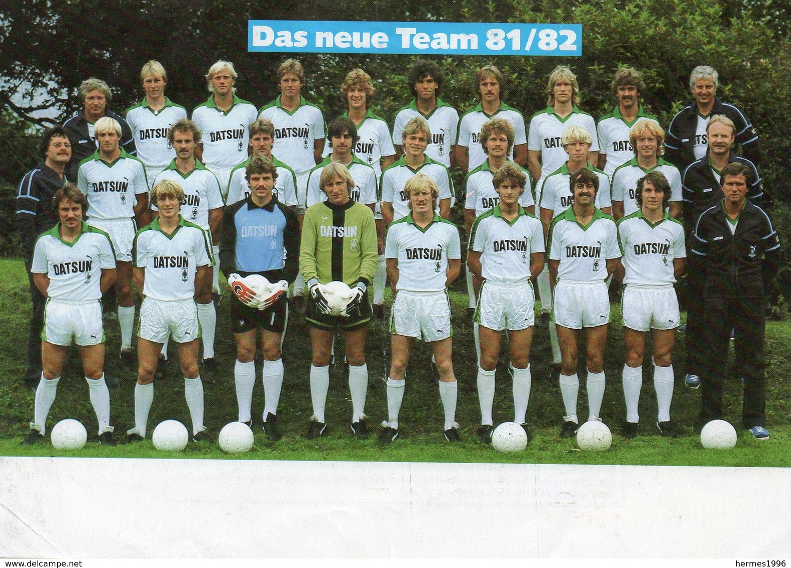 BORUSSIA        MONCHENGLADBACH     1981/82 - Calcio