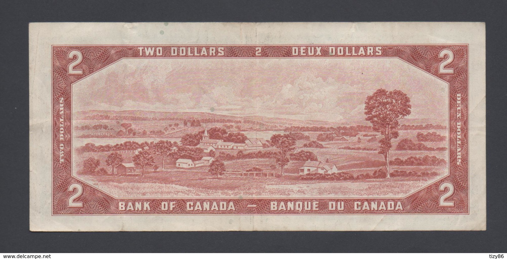 Banconota Canada 2 Dollari 1954 (circolata) - Canada