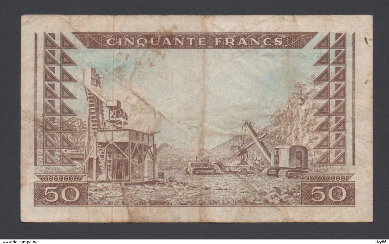 Banconota Guinea - 50 Franchi - 1960  (circolata) - Guinée
