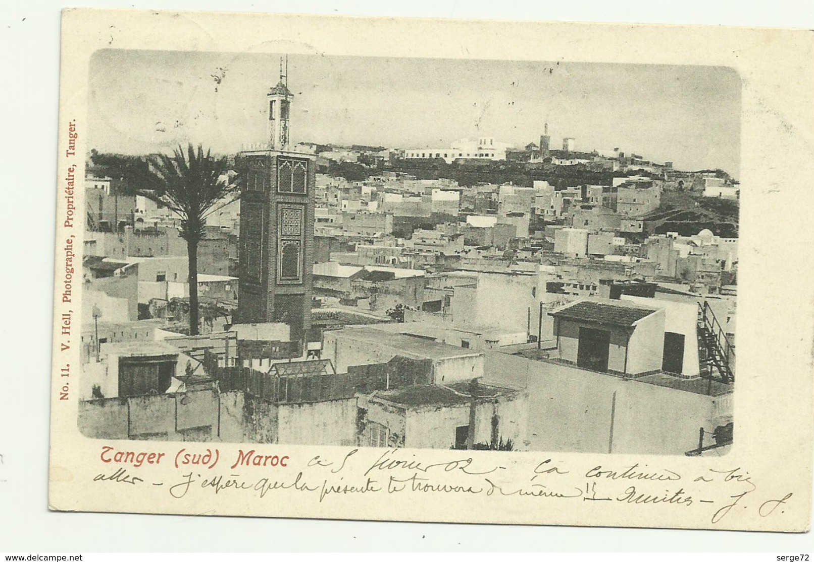 Cpa Précurseur De 1902  Tanger (sud)  Maroc - Tanger