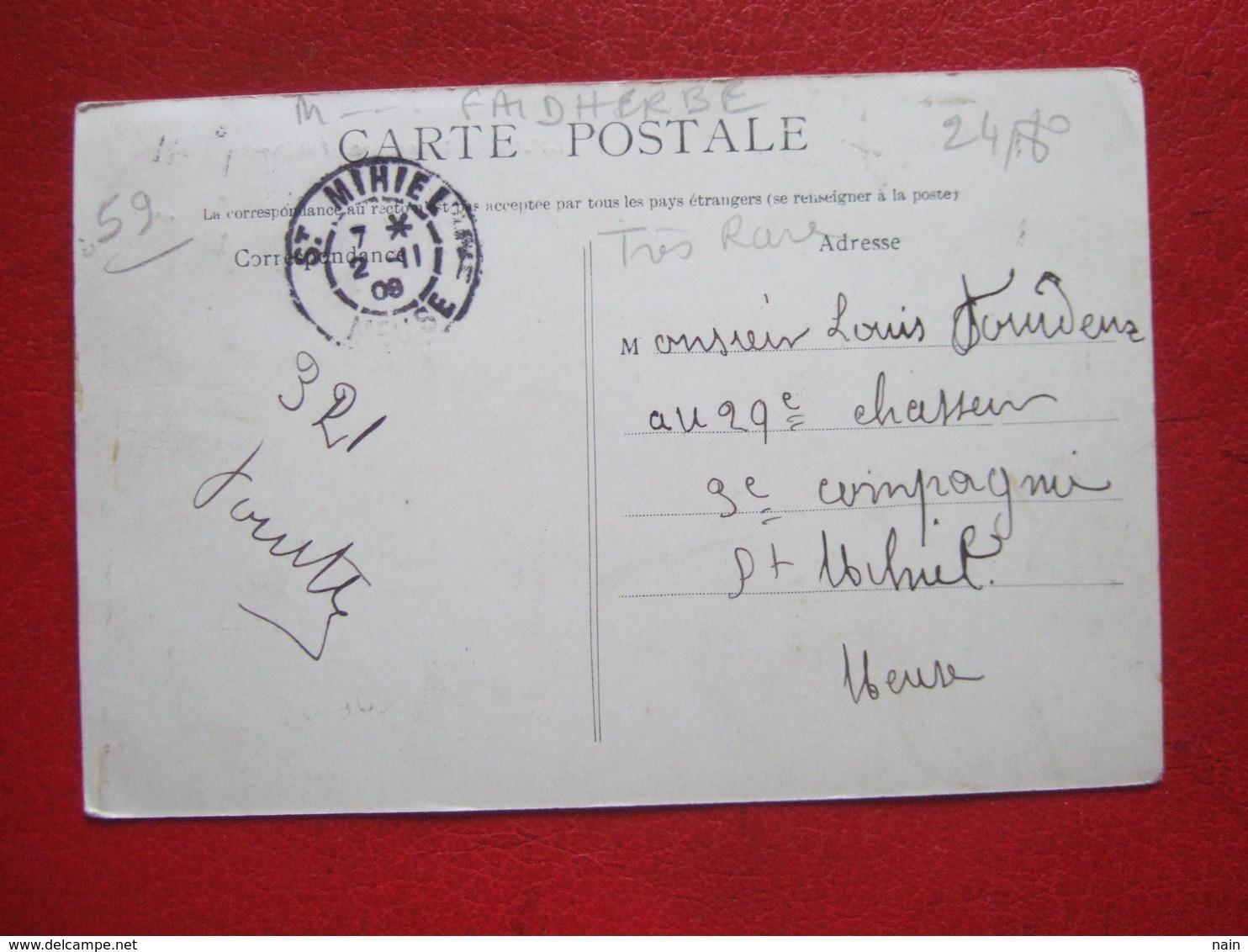 """59 - LILLE - """" HONNEUR A FAIDHERBE """" - ARC DE TRIOMPHE -- MONUMENT FAIDHERBE - """" ////   """" TRES RARE """"  /////// - Lille"""