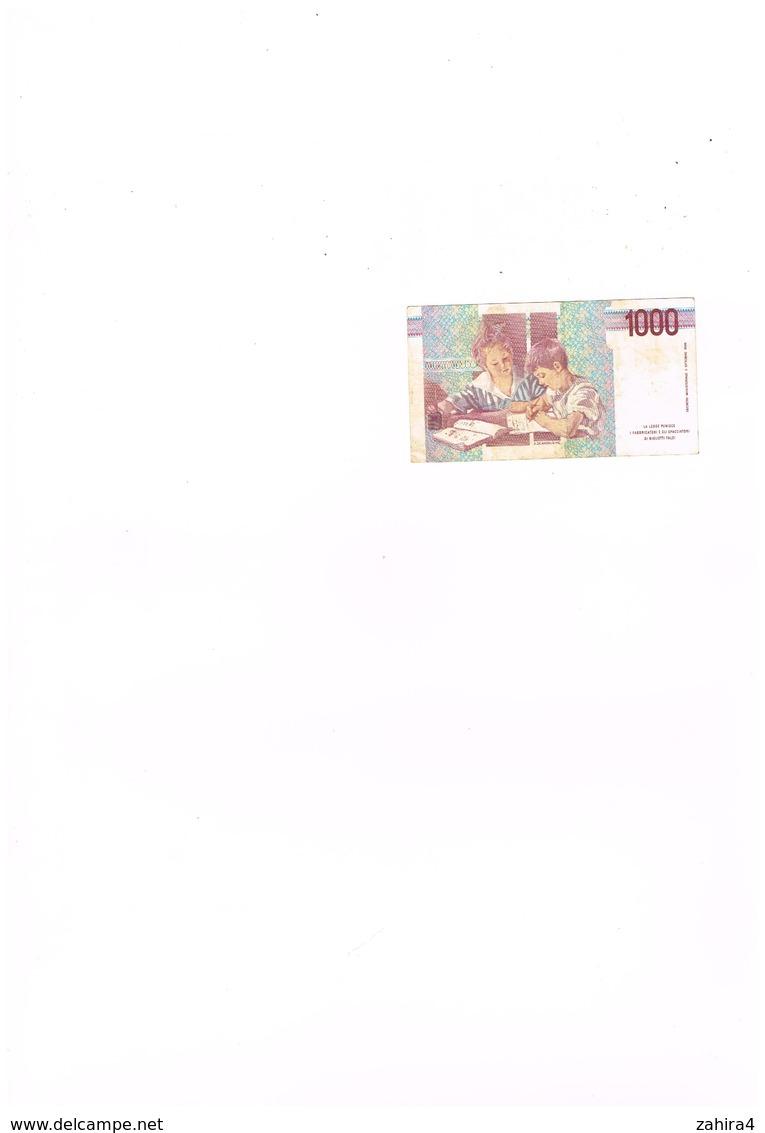 Banca D'Italia - 1000 Lire Mille - AC 576482 A - 1000 Lire