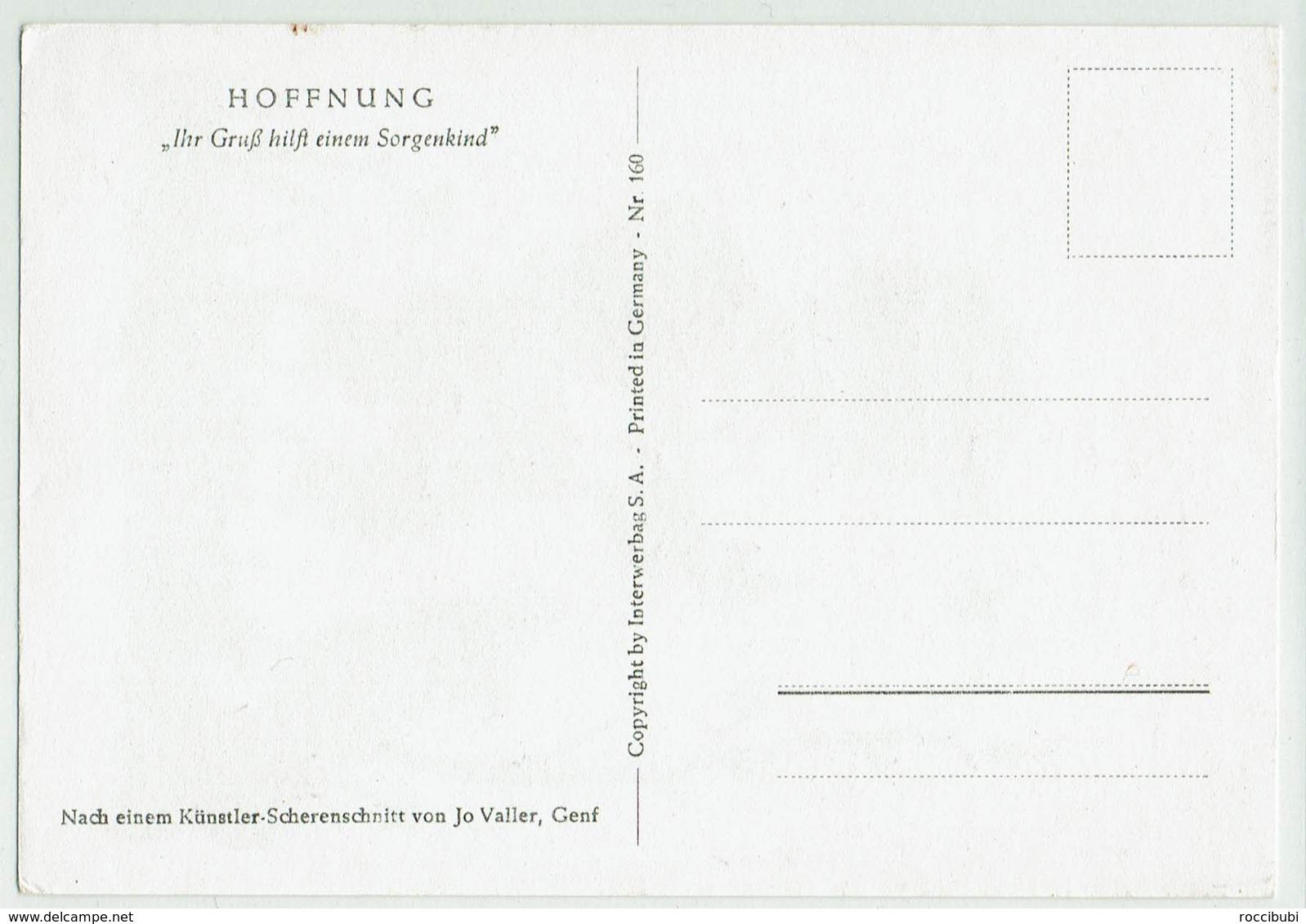 (033..233) Künstler Scherenschnitt Von Jo Valler, Genf - Silhouettes