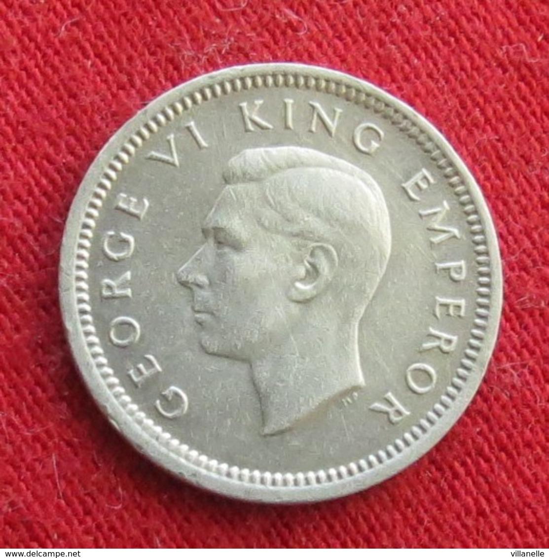 New Zealand 3 Pence 1942 KM# 7 Silver  Nova Zelandia Nuova Zelanda Nouvelle Zelande Neu Seeland - Nouvelle-Zélande