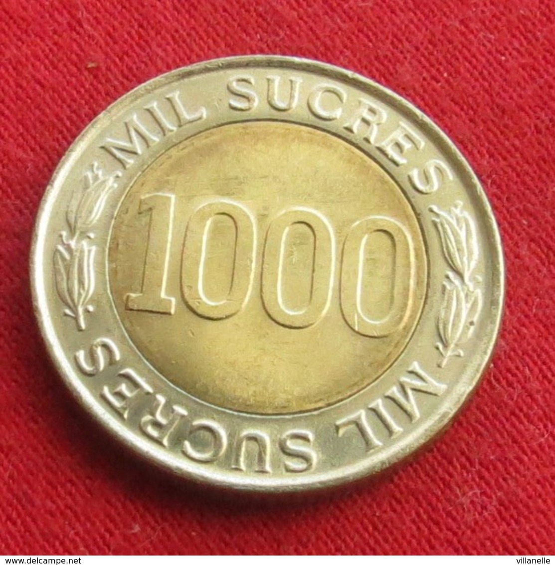 Ecuador 1000 Sucres 1997 KM# 103 Equador Equateur - Ecuador