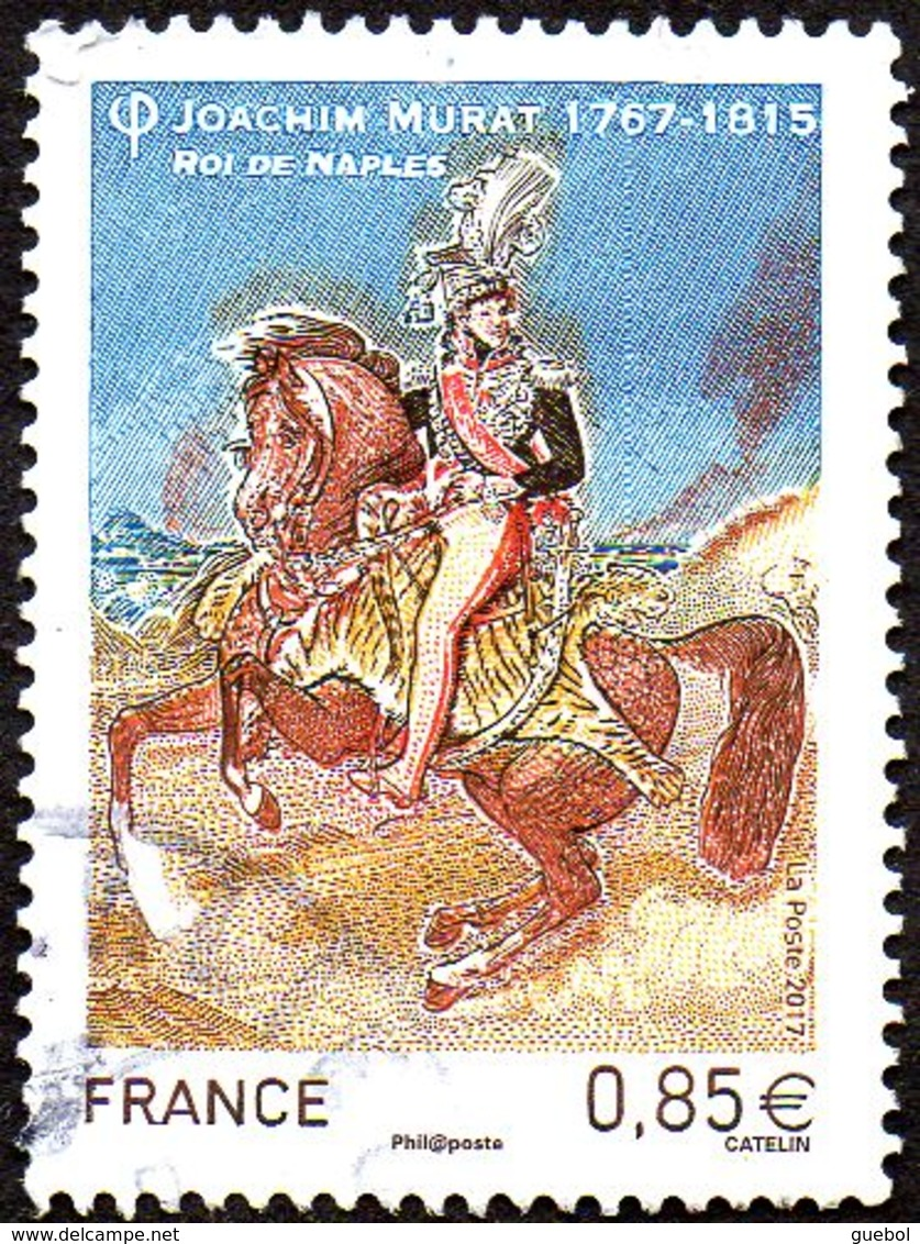 Oblitération Cachet à Date Sur Timbre De France N° 5157 Joachim Murat, Roi De Naples - France