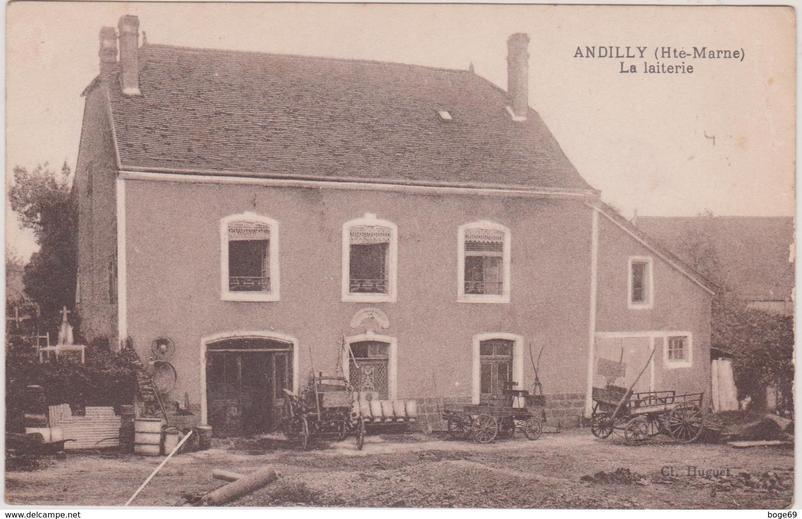 (ALBUM) HAUTE MARNE , ANDILLY , La Laiterie - Autres Communes