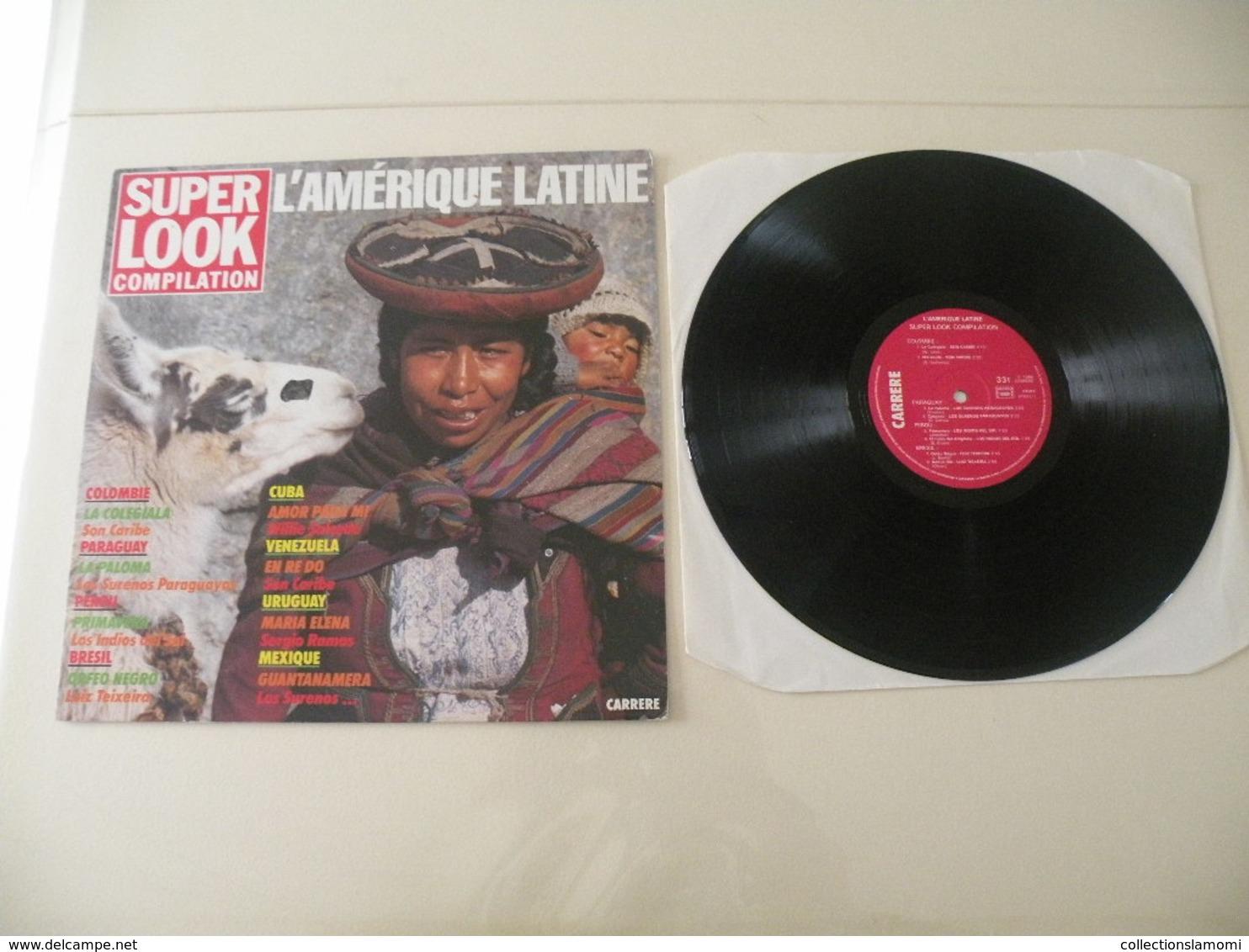 Musique Amérique Latine, Compilation (Titres Sur Photos) - Vinyle 33 T LP - Instrumental