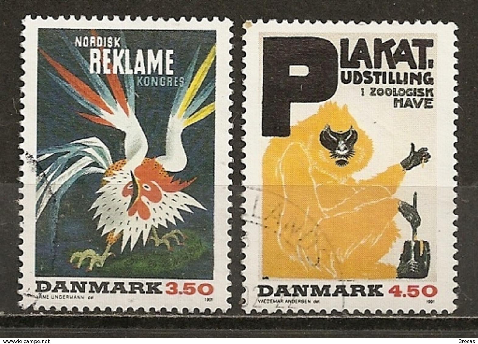 Danemark Denmark 1991 Posters Obl - Denemarken
