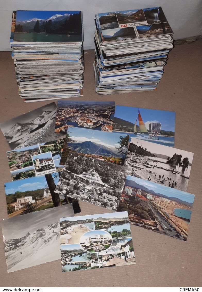 Lot De 800 Cartes Postales Ms Et M Gf : France, Pas De Paris, Ni Lourdes - Postcards