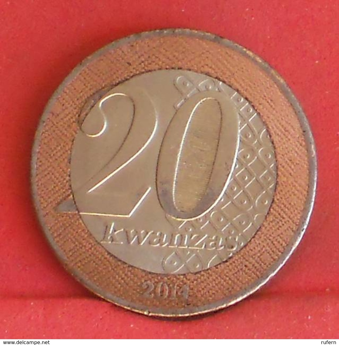 ANGOLA 20 KWANZAS 2014 -    KM# 111 - (Nº27223) - Angola