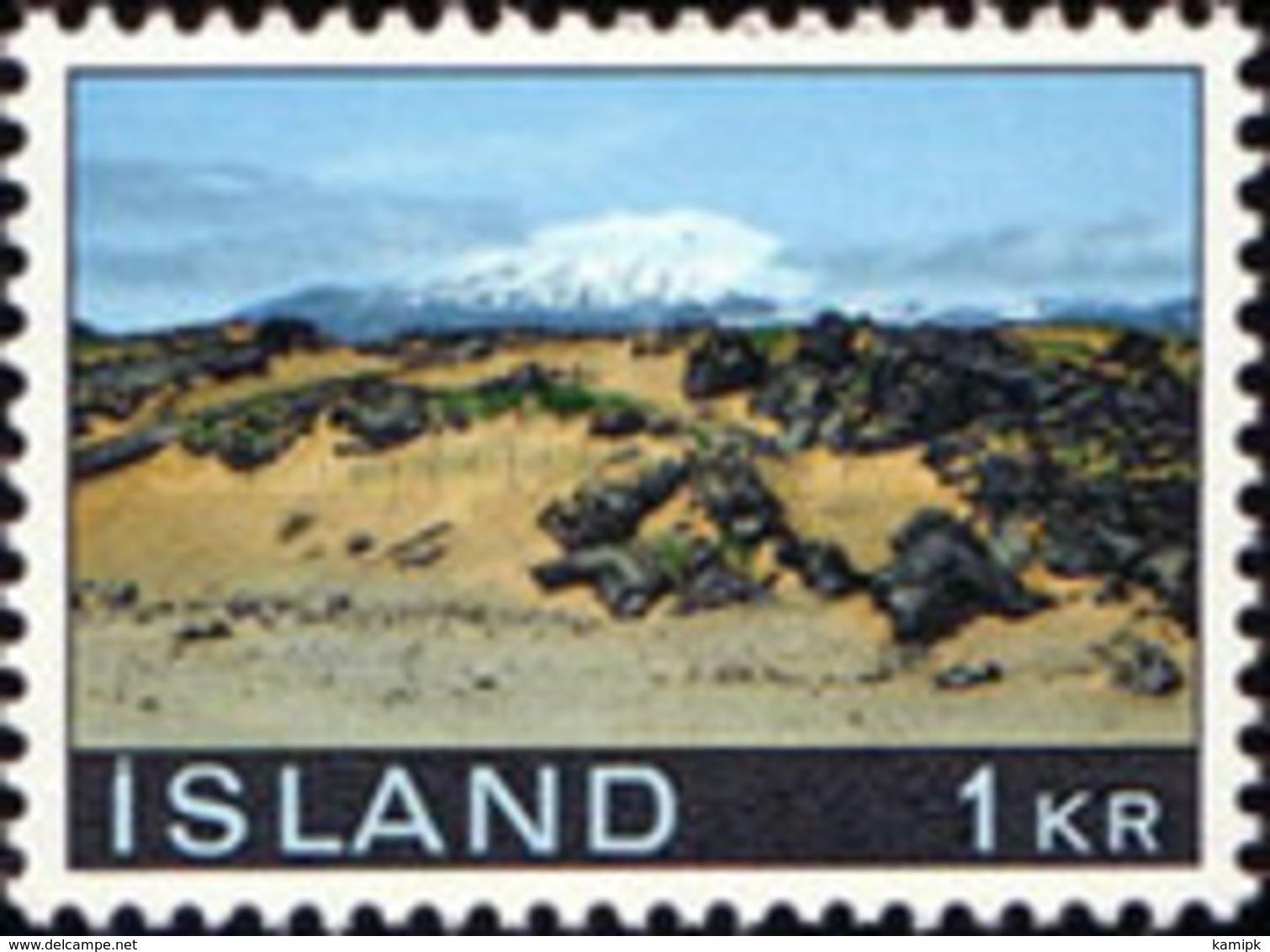 USED STAMPS Iceland - Landscapes - 1970 - Gebraucht