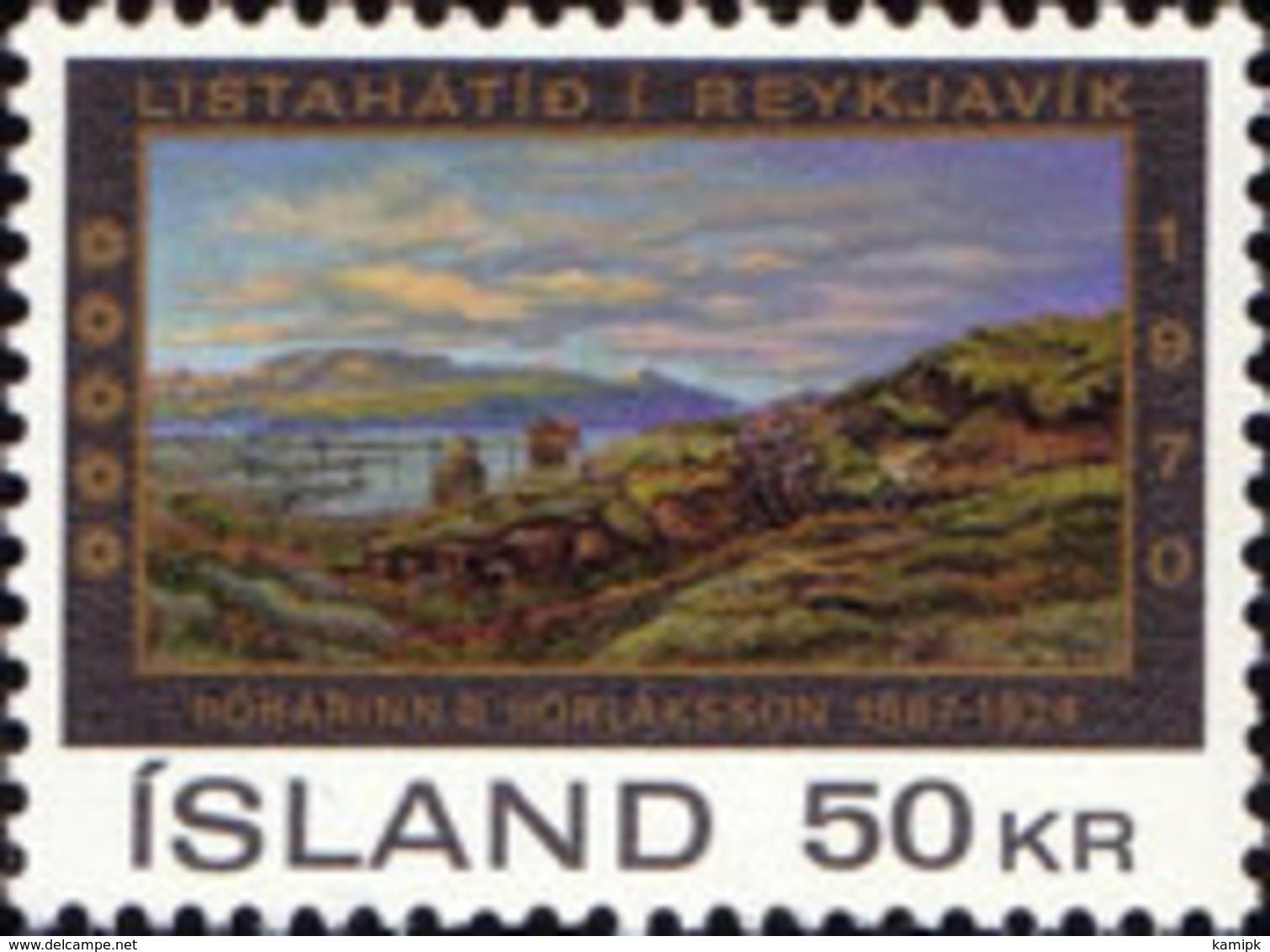 USED STAMPS Iceland - Art Festival In Reykjavik  - 1970 - 1944-... Republik