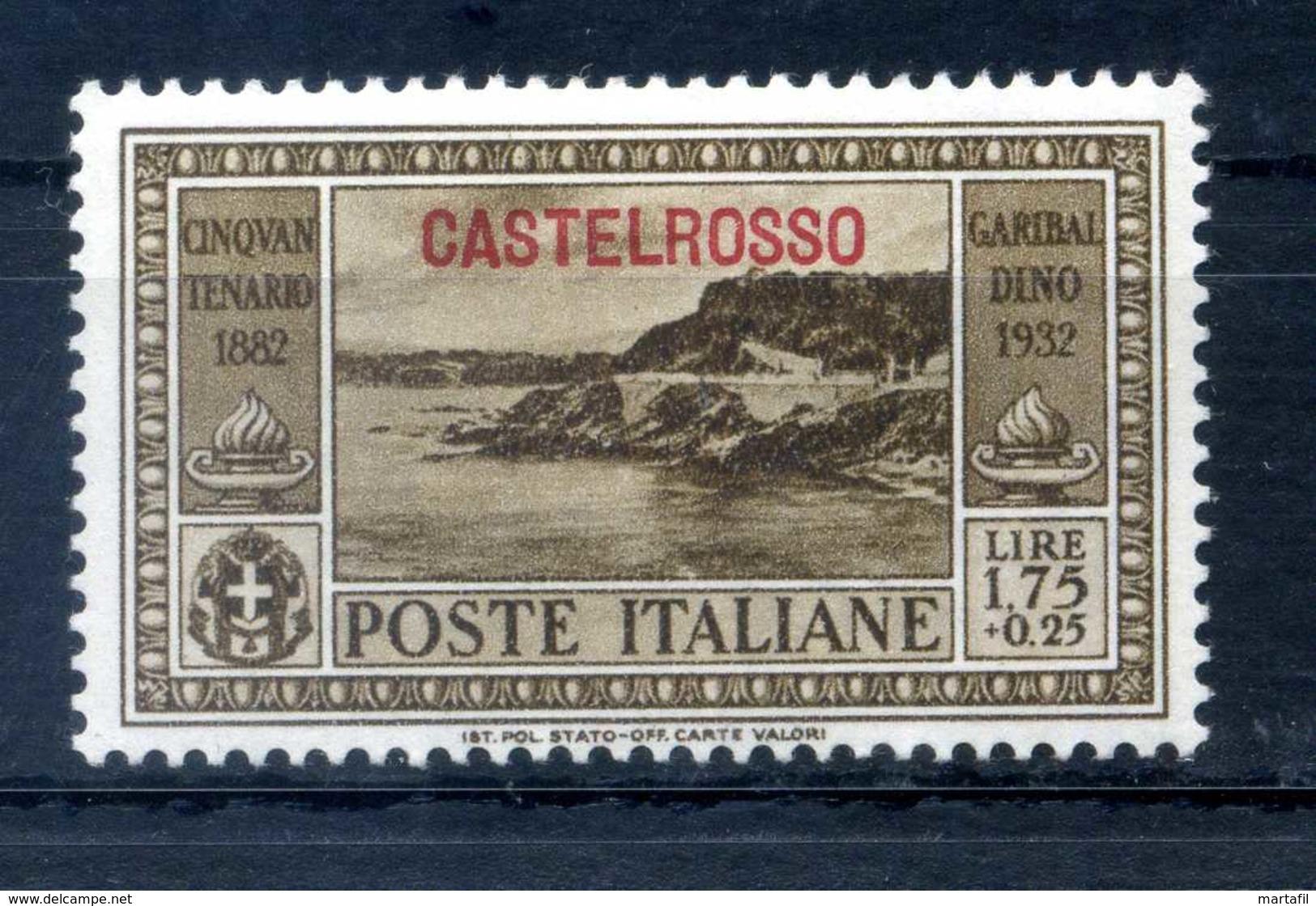1932 CASTELROSSO GARIBALDI N.37 * - Castelrosso