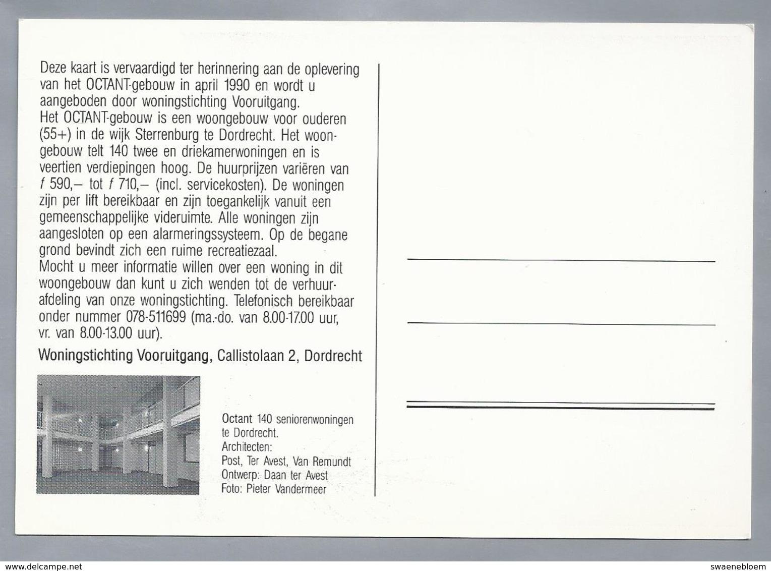 NL.- DORDRECHT. Gebouw OCTANT Oplevering In 1990. Ontwerp Dan Avest. Foto. Pieter Vandermeer. - Dordrecht