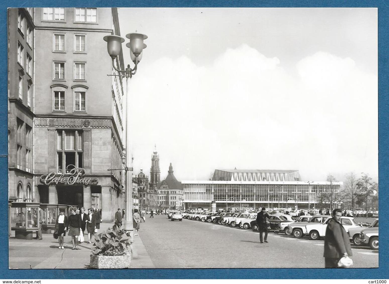 DRESDEN ALTMARKT MIT KULTURPALAST UNUSED - Dresden