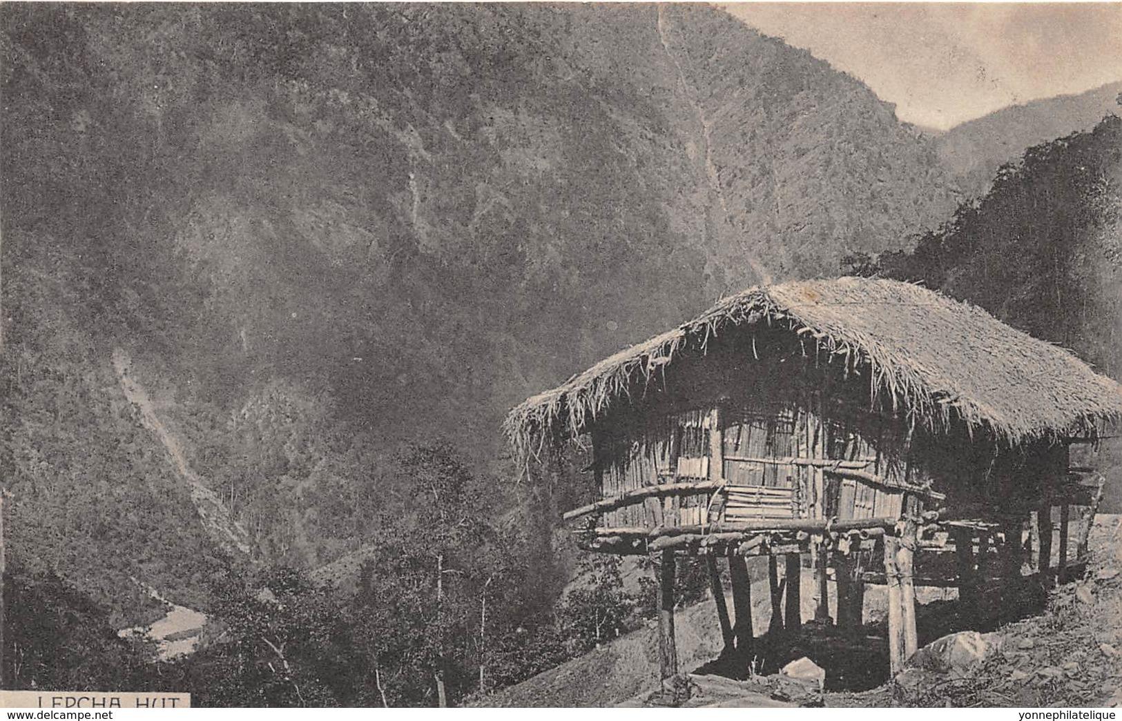 Sikkim / 01 - Lepcha Hut - Cartes Postales