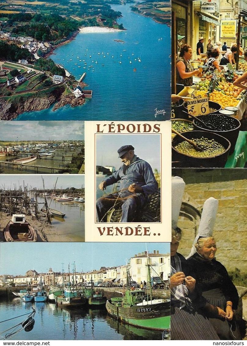 LOT DE 1240 CARTES DE FRANCE GRANT FORMAT A VOIR - 500 Cartoline Min.