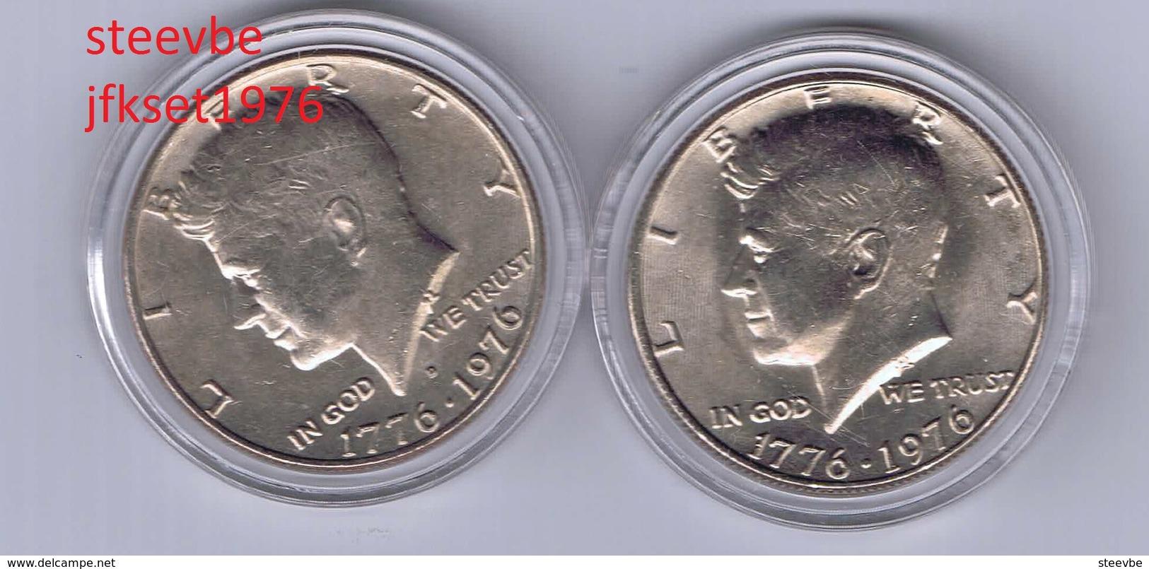 Half Dollar JFK Kennedy Set 1976 - Federal Issues