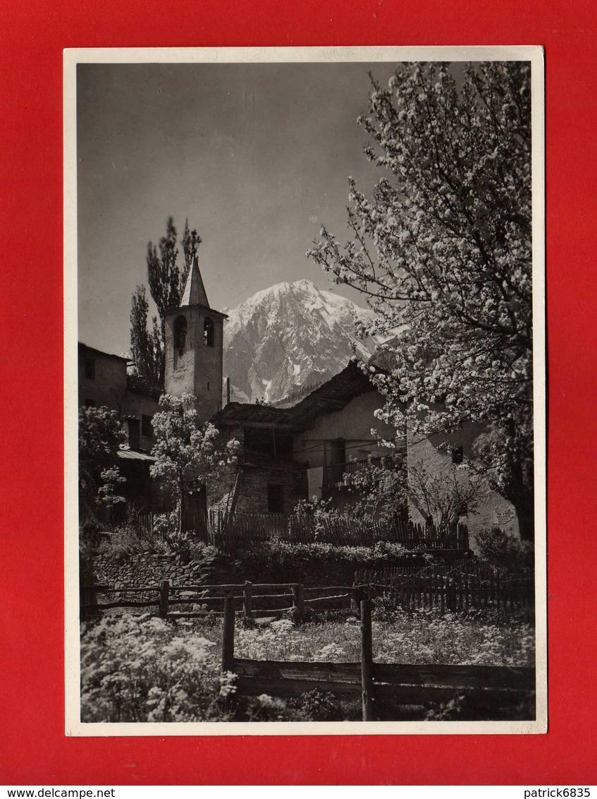 COURMAYEUR - VERRAND E MONTE BIANCO.  Vedi Descrizione - Italia