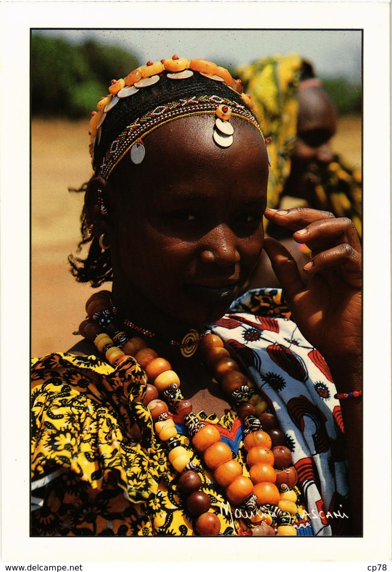 COTE D'IVOIRE - Jeune Femme Peul De BOUNDIALI - Belle Carte écrite Au Verso - Côte-d'Ivoire