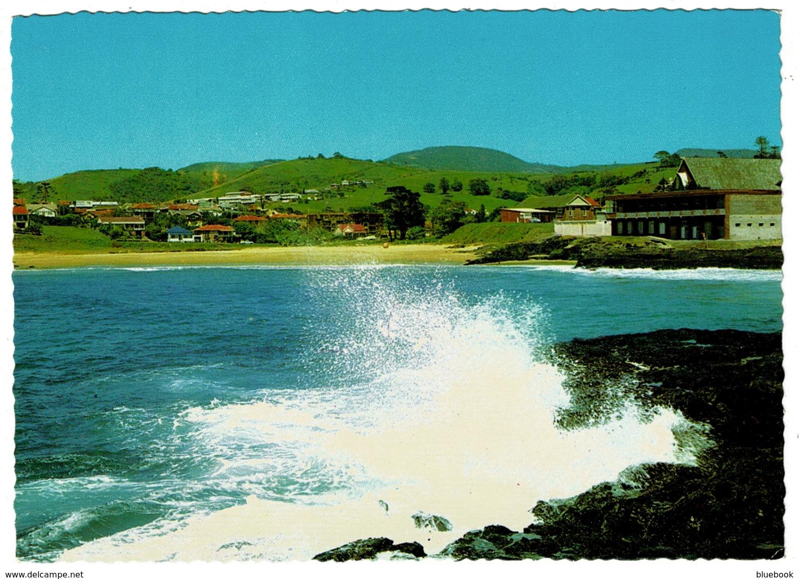 Ref 1260 - Postcard - Surfing Beach & Club House Kiama - New South Wales - Australia - Australie
