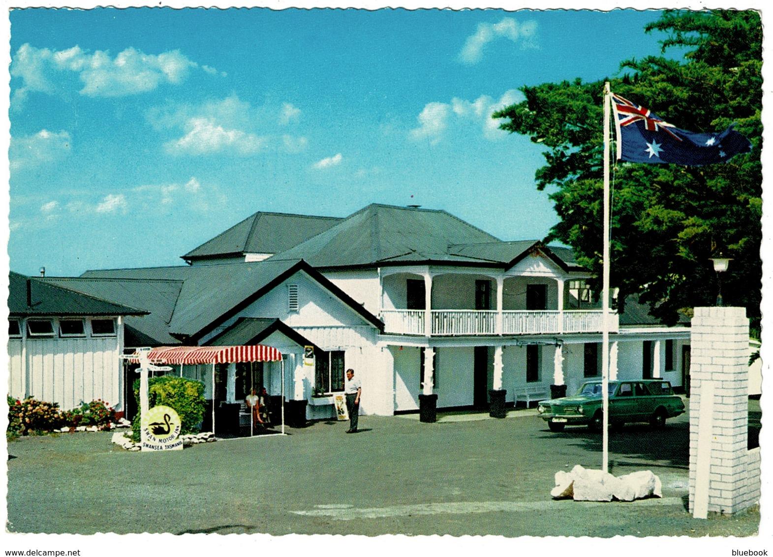 Ref 1260 - Postcard - Swan Motor Inn - Overlooking Oyster Bay At Swansea Tasmania Australia - Autres