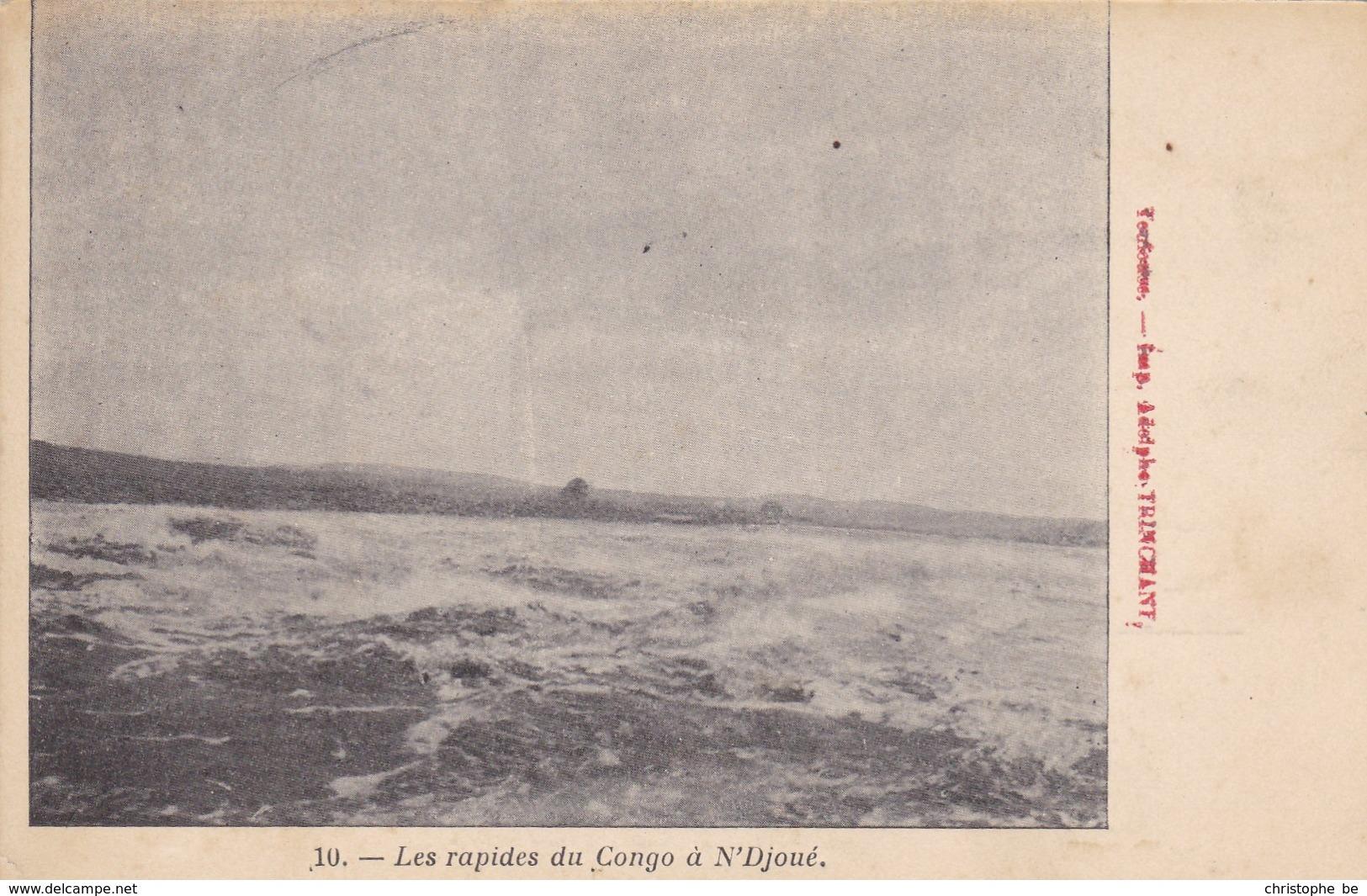 Les Rapides Du Congo à N'Djoué (pk54090) - Congo - Brazzaville