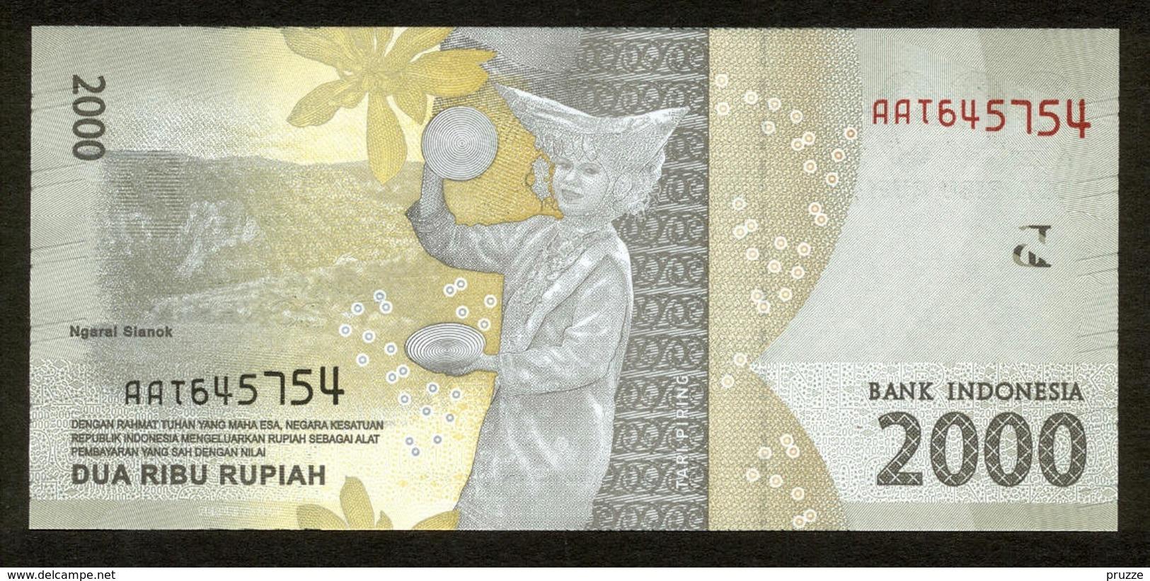 Indonesien 2016, 2000 Rupiah - UNC, Kassenfrisch - Indonésie