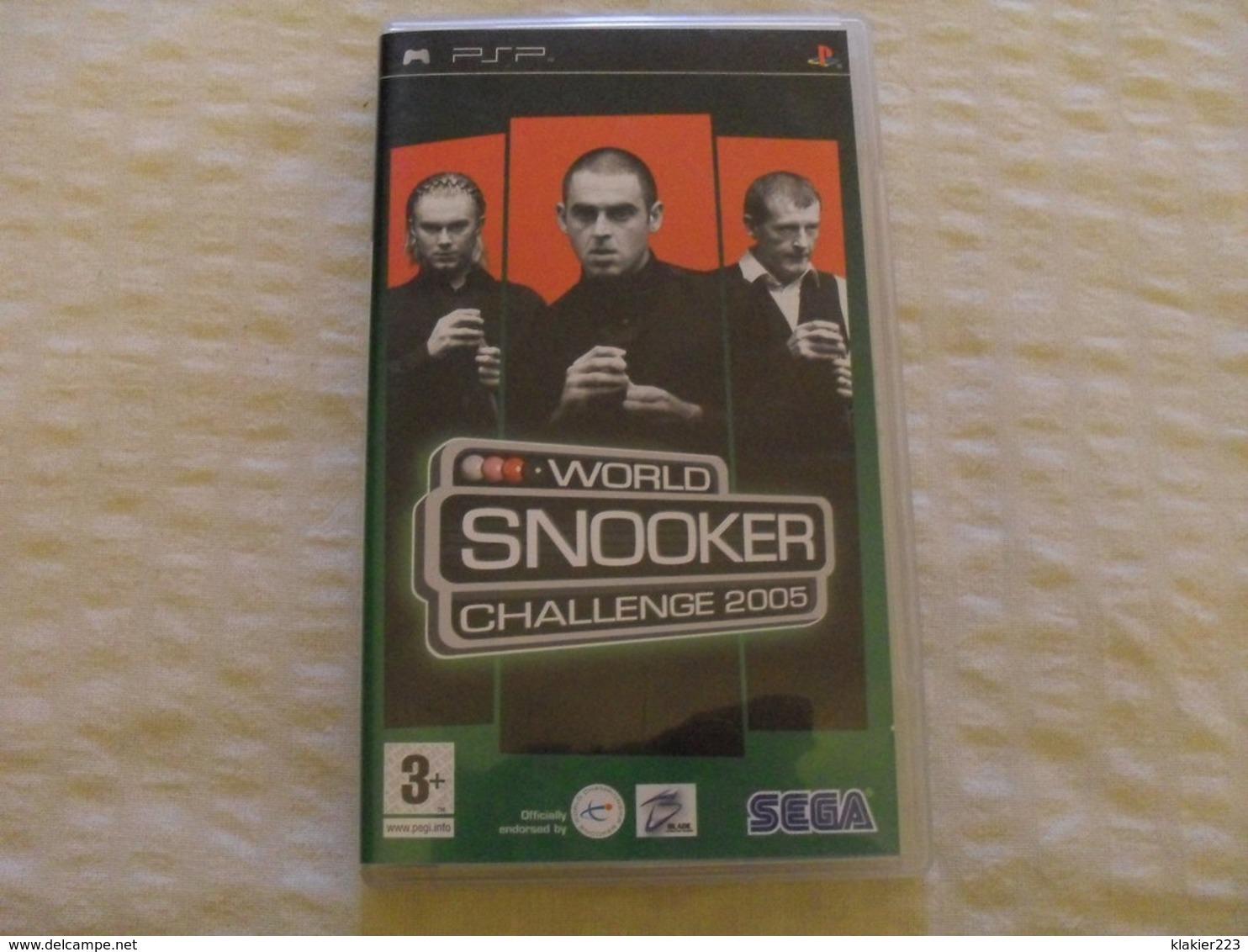 World Snooker Challenge 2005 / Sony PSP - Sony PlayStation