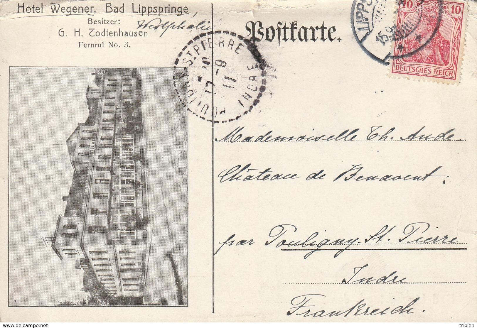Bad Lippspringe - Hotel Wegener - Todtenhausen - Bad Lippspringe
