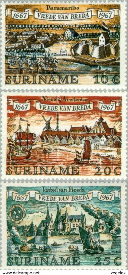 Suriname 1967 Verjaardag Vrede Van Breda - NVPH 481 MNH** Postfris - Suriname ... - 1975