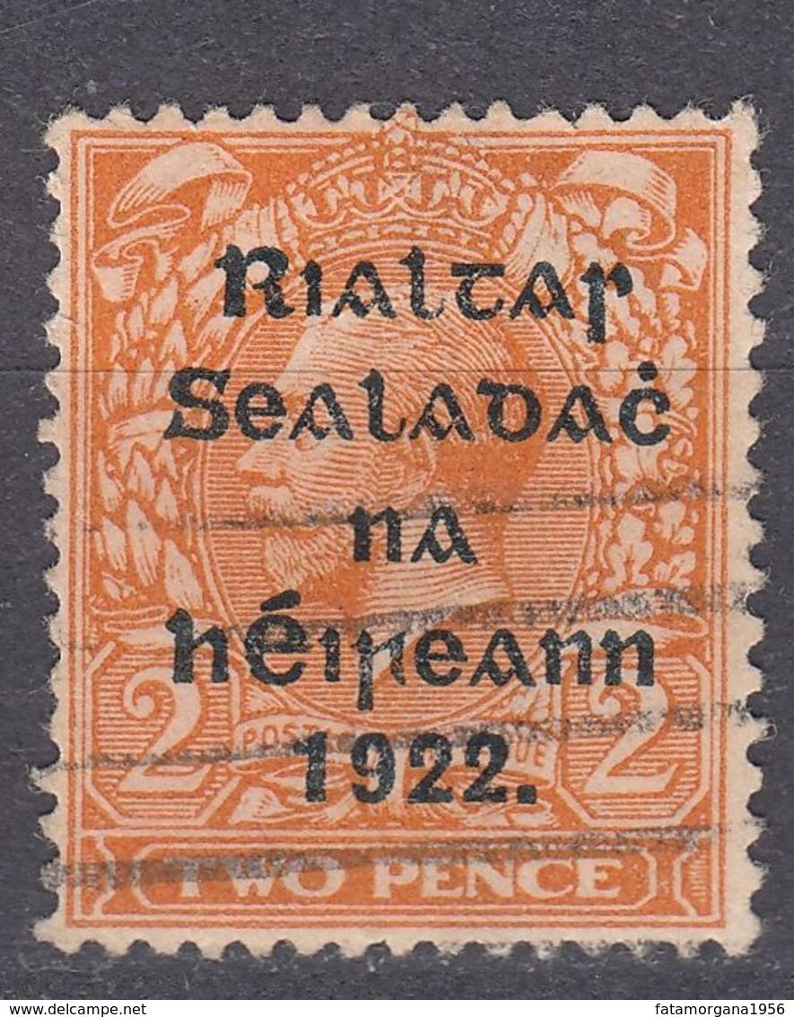 IRLANDA - IRLANDE - GOVERNO PROVVISORIO - 1922 - Yvert 4b Obliterato - 1922 Governo Provvisorio