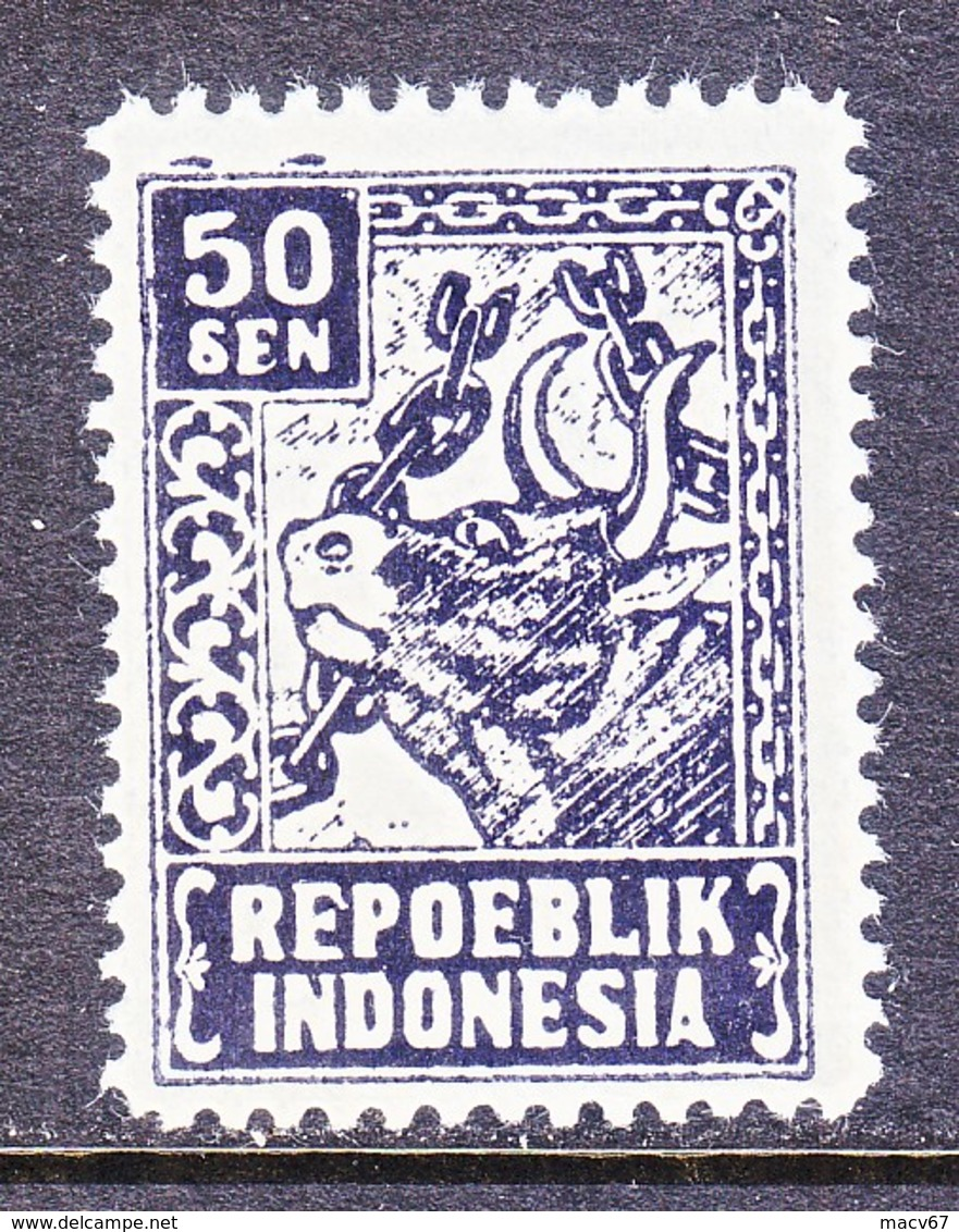 JAVA  REVOLUTIONALY  ISSUE  1L 37    * - Indonesia
