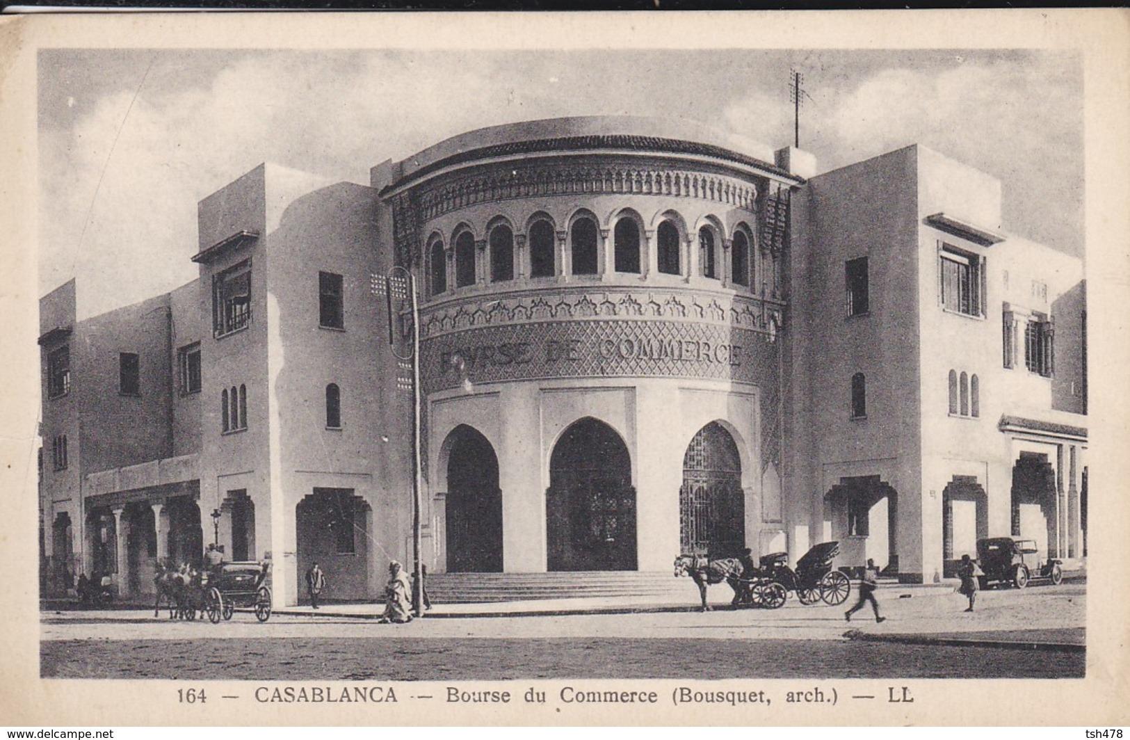 MAROC----CASABLANCA--bourse Du Commerce  ( Bousquet  Arch. )--voir 2 Scans - Casablanca