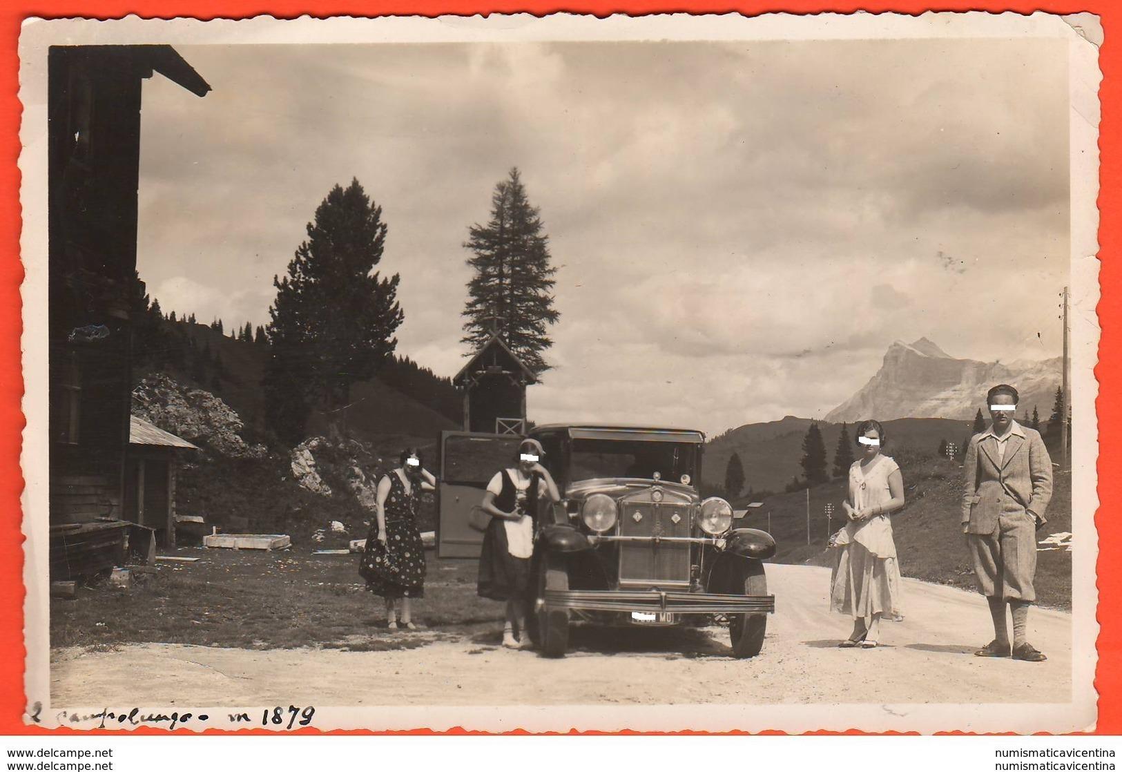 Auto FIAT Targa Modena Al Campolongo 1931 Cars Coches Voitures - Auto's